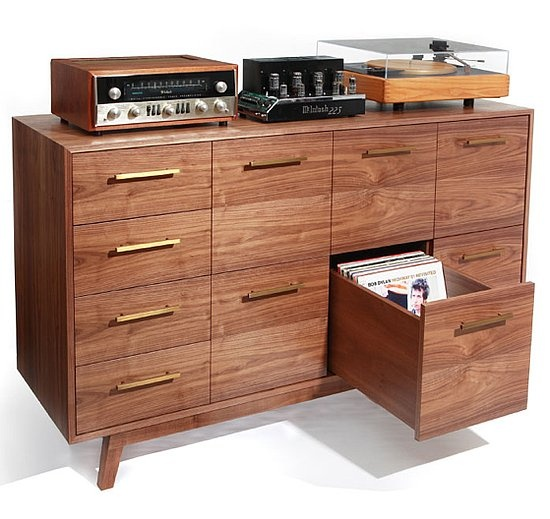 storage solutions for vinyl record collectors. Black Bedroom Furniture Sets. Home Design Ideas