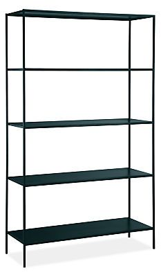 Slim Bookcases in Colors - Bookcases & Shelves 42w