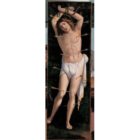 St Sebastian Canvas Art - (24 x 36)