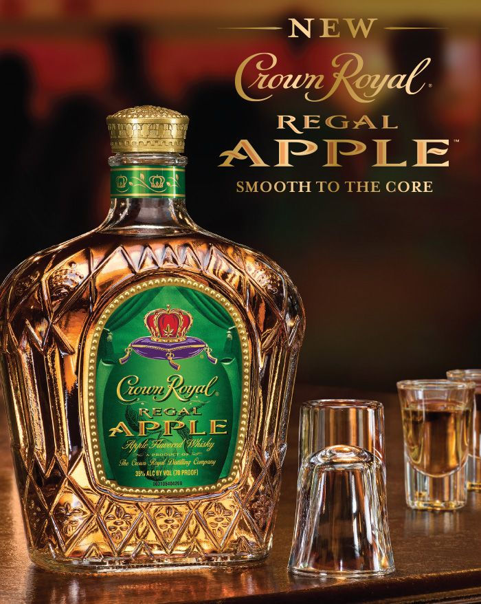 Crown Royal's New Regal Apple flavor has Fall #cocktails written ALL over it