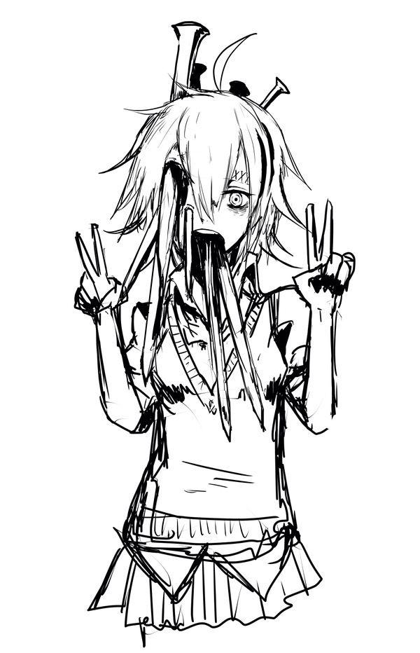 666 Best Horror Anime 〜〜〜 Images On Pinterest