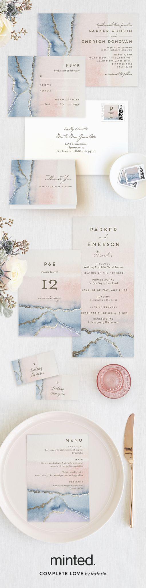 141 best wedding invitations images on pinterest bridal