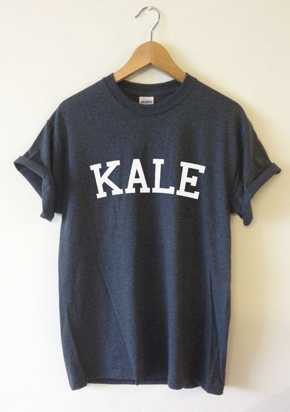 KALE T-shirt High Quality SCREEN PRINT for Retail by Tmeprinting