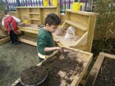 The Foundation stage children at Margaret McMillan Primary School in Bradford recently moved into a custom built building and were looking for a play area to facilitate free access to the outdoors.