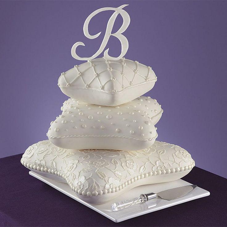Wilton set of 3 Pillow 3D cushion cake tins / pans ...