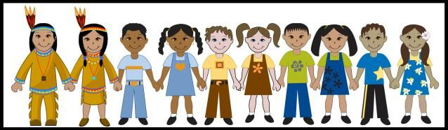 Kids Of Diverse Races: Kids - Lots of Kids