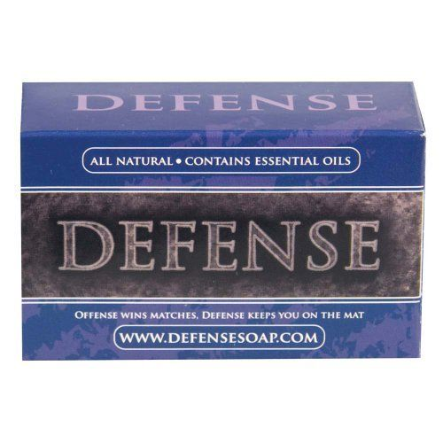 Defense Soap 4oz. Bar by Defense Soap. $8.50. Protect yourself with this natural antibacterial soap for wrestlers and other contact sport participants. The Defense Soap Bars contain the highest concentrations of therapeutic botanicals possible to put in a bar of soap. From the stand point of hygienics, Defense Soap is a therapeutic cleansing soap, not a medicine. It is not intended for use in the diagnosis, cure, mitigation, treatment, or prevention of disease in humans. However...