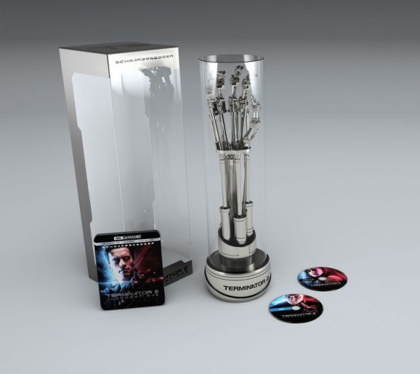 'Terminator 2' UHD Blu-ray comes with a life-size robot arm