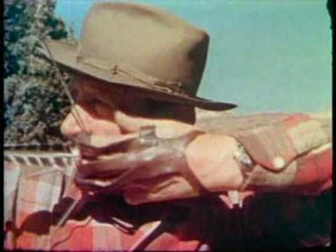 Fred Bear Historical Hunting Footage.flv archery history clips youtube video in 9 mins