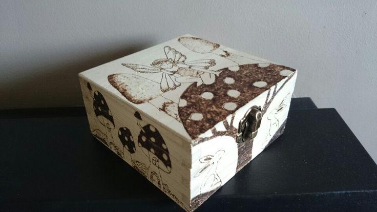Fairy pyrography box