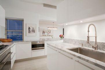 57th Street Residence - scandinavian - Kitchen - New York - Glickman Schlesinger Architects