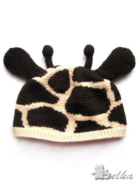 cute giraffe hat.