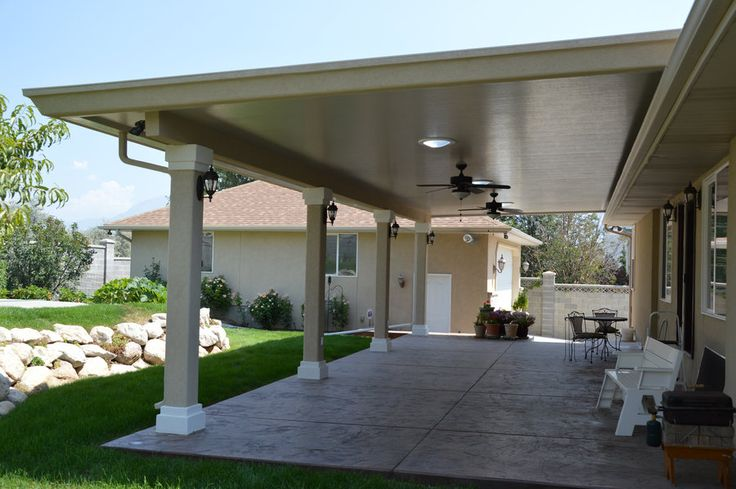 24 best images about outdoor patio on pinterest patio for Stucco patio cover designs