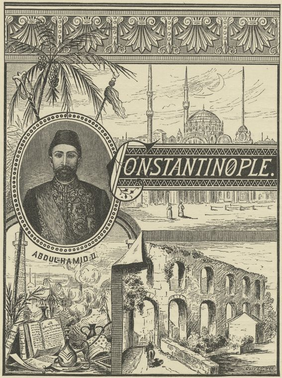 II. Abdülhamit and #İstanbul  (The Miriam and Ira D. Wallach Art Gallery) #constantinople  #history #ottoman