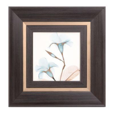 Blue X-ray Floral II Framed Art Print | Kirklands