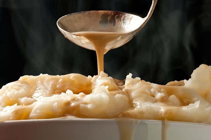 Classic Mashed Potatoes -- Just as they should be: creamy and buttery.
