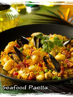 Bahama Breeze's #Seafood #Paella. It's so hard not to order this everytime.
