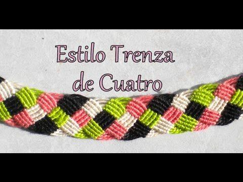 Hagan like mi pagina de facebook :) https://www.facebook.com/pages/Madian-Pulseras-de-Hilo/244461169045510?ref_type=bookmark 16 hilos, 4 colores 4 color salm...