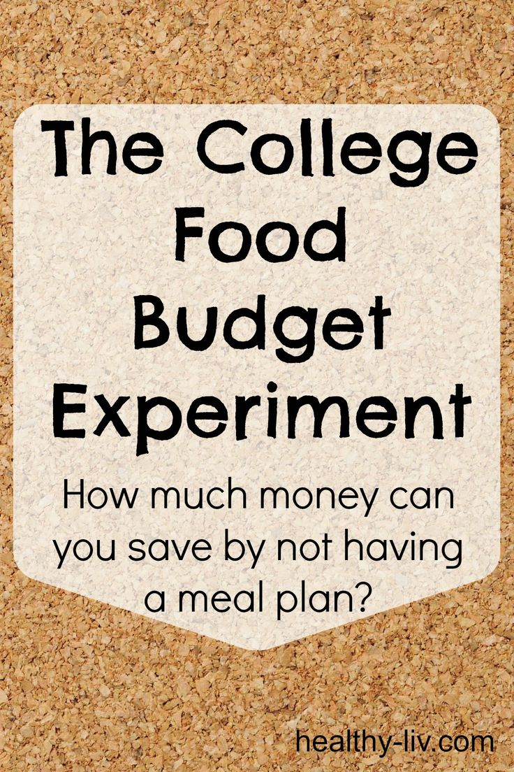 Can you really save money in college by not having a meal plan?