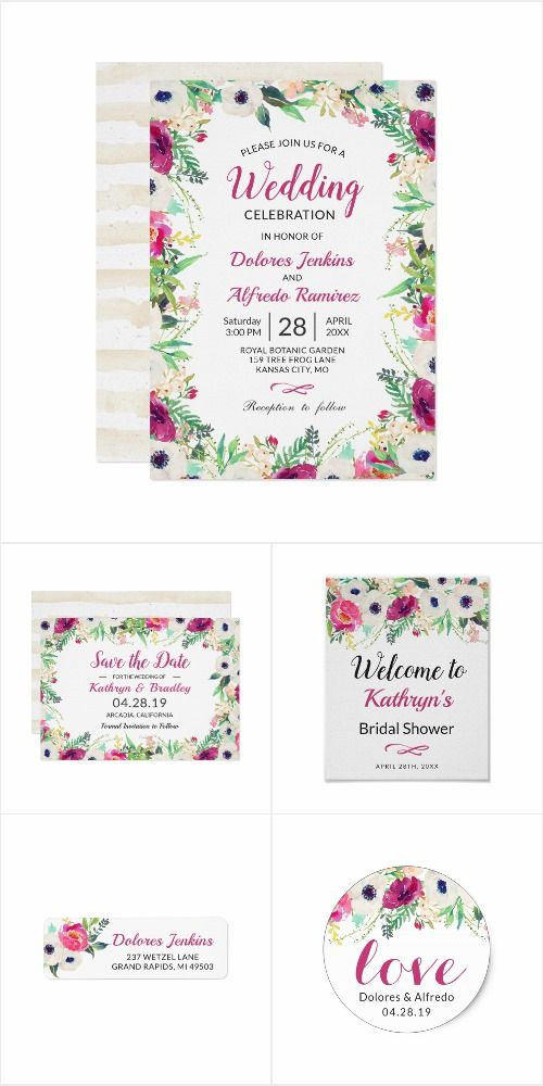 40 best Spring Wedding Invitations images on Pinterest | Spring ...