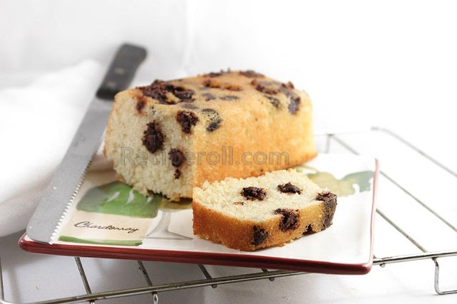 Mini Pound Cake | Mini Chocolate Chip Loaf ~ Sankeerthanam (Reciperoll.com)|Recipes | Cake Decorations | Cup Cakes |Food Photos