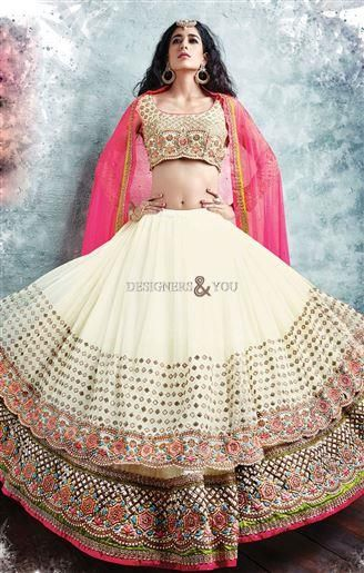 #lehengadesigns for engagement and wedding parties