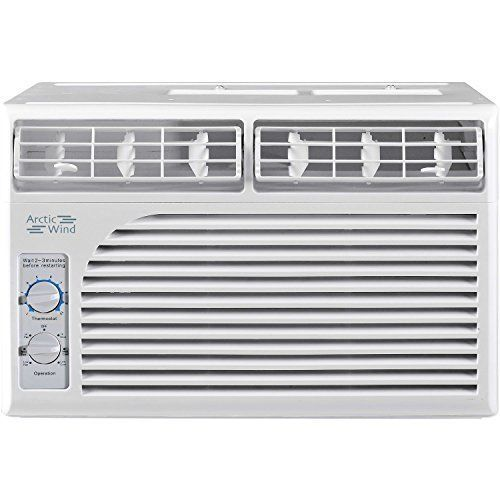 Arctic Wind 5,000 BTU Window Air Conditioner with Mechanical Controls #ArcticWind