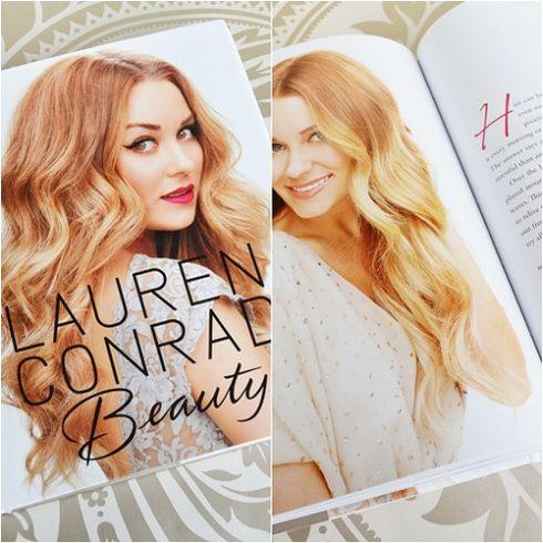 "Lauren Conrad and her book called ""Beauty"""