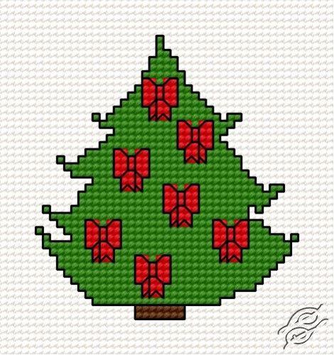 Christmas Tree II - Free Cross Stitch Pattern