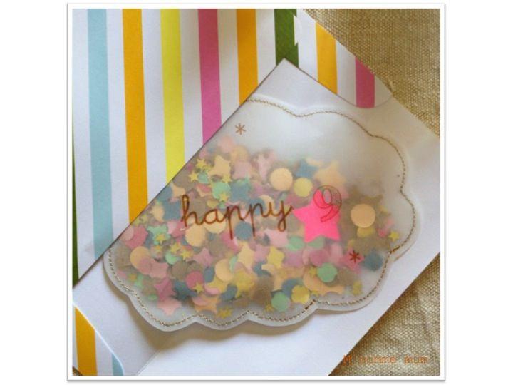 J'adore les nuages ! Et ces petites pochettes à offrir comme invitation ou simple carte est une SUPERBE idée ! ♥