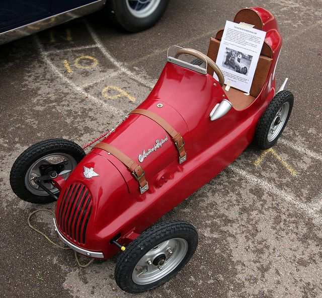 Austin pathfinder pedal car by chippy1920, via Flickr