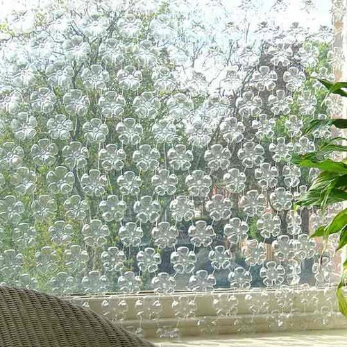 cortina: Plastic Bottle, Pop Bottle, Water Bottle, Privacy Screens, Lights Fixtures, Window, Pet, Sodas Bottle, Rooms Dividers