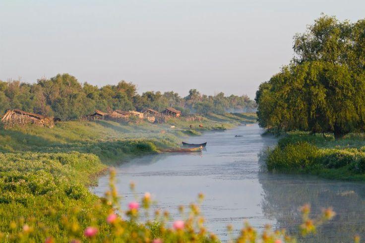 Danube Delta village