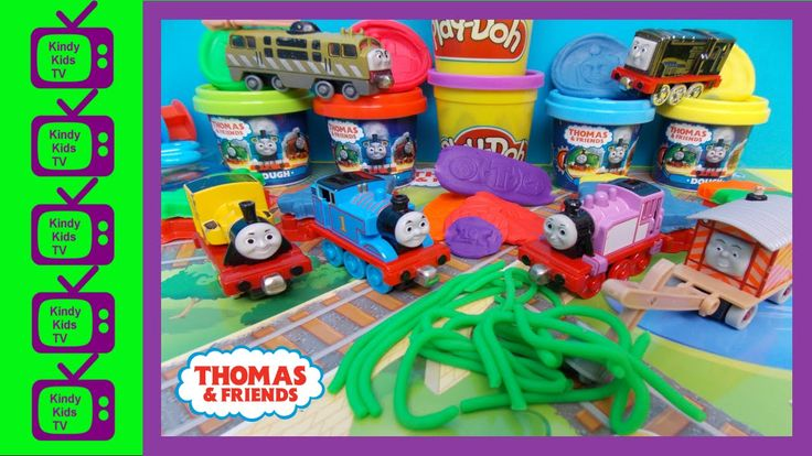 Thomas and Friends play-doh. Thomas & Friends Dough Set. Thomas The Tank...