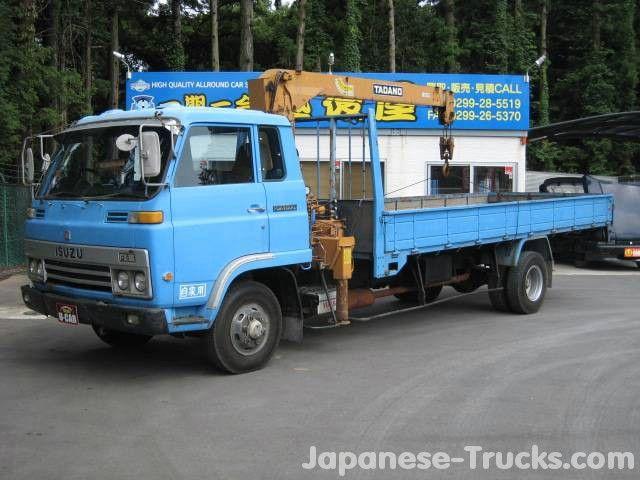 1980 Isuzu Forward Truck Crane SDR48 pictures
