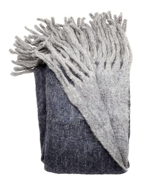 Deilig pledd i mohair - Interiør på nett - Concret Interiør