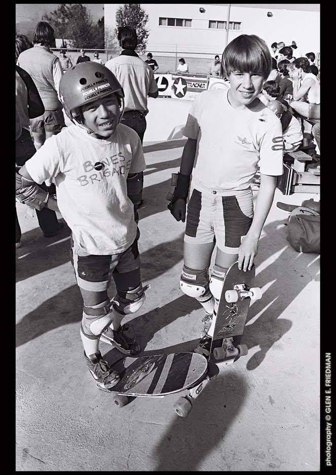 Cab and Mullen, early 80s.