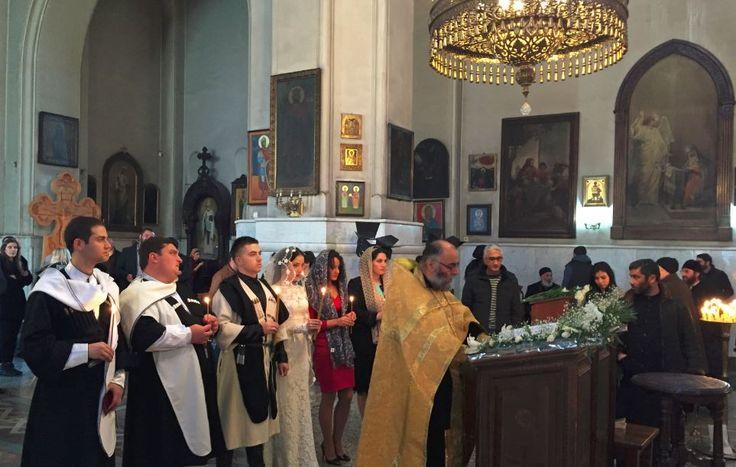 Kiliselerde Her Daim Nikahları Kıyılan Gürcüler