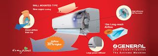 AC Price / Air Conditioner Price in Banglades / BD: O General AC Price in Bangladesh