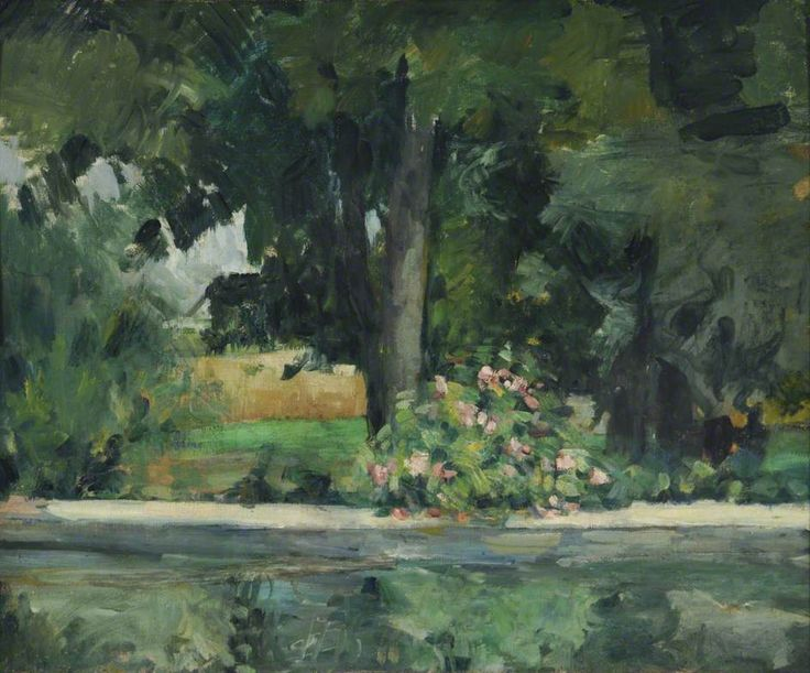 Cezanne, Bassin du Jas de Bouffan, c.1874  When I judge art, I take my painting and put it next to a God made object like a tree or flower. If it clashes, it is not art.  For an Impressionist to paint from nature is not to paint the subject, but to realize sensations.  More food for the soul from the Great Master.