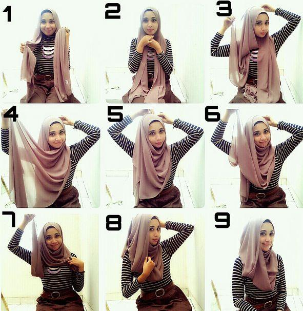 Merangkai hijab pasmina menjadi kreasi hijab yang cantik dan sempurna memang tidak mudah. Namun jika anda memiliki tutorial hijab pasmina simple, ini akan sangat membantu Anda.