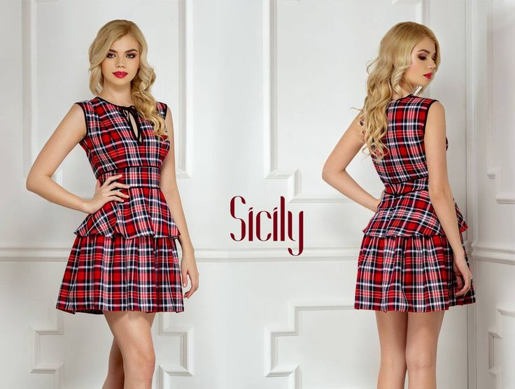 Short elegant dress with colored print and ruffles: https://missgrey.org/en/dresses/short-girly-day-dress-with-ruffles-and-red-print-sicily/505?utm_campaign=mai&utm_medium=rochie_sicily&utm_source=pinterest_produs