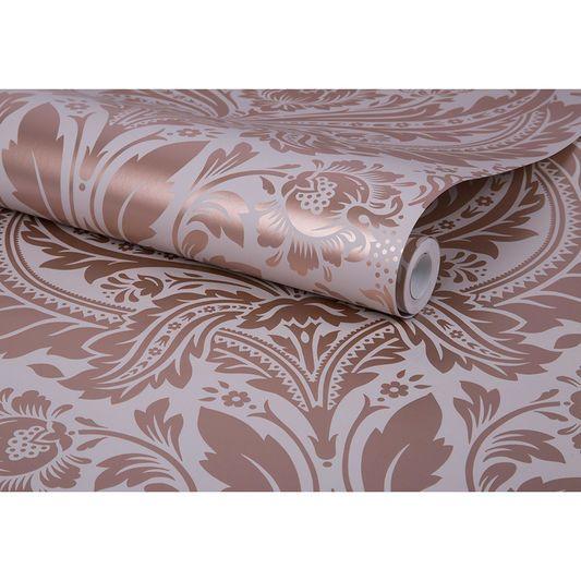 Desire Mink Wallpaper | Graham & Brown UK