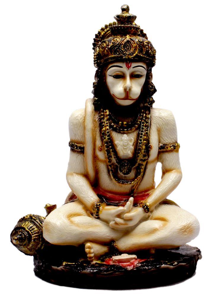 Hand Carved Meditating God Hanuman Resin Idol Sculpture Statue 6.5 Inches #Hanumanstatue #Hanumanidol #Hanumangift http://www.amazon.com/Carved-Meditating-Hanuman-Sculpture-Statue/dp/B0136OTMAA/ref=sr_1_131?m=AS6NUW2A4I9OG&s=merchant-items&ie=UTF8&qid=1446552455&sr=1-131&keywords=resin