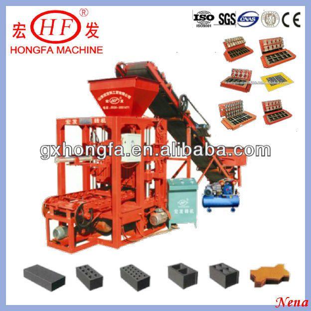 Pin By Yukii On Construction Machinery Making Machine Interlocking Bricks Types Of Bricks