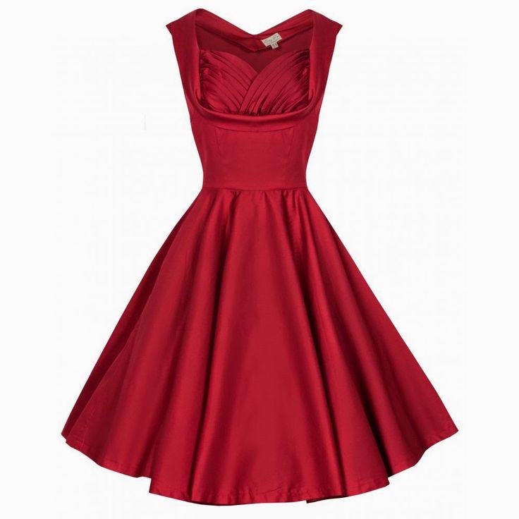 Vintage Girl: Sukienki na studniówkę w stylu pin up lub retro
