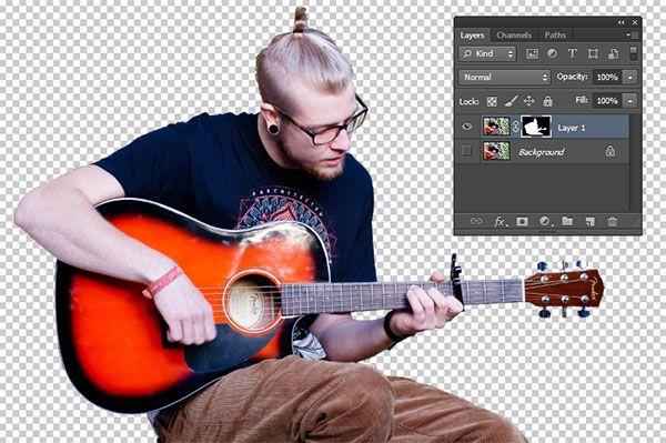 Berikut ini tutorial cara menghapus background di Photoshop untuk foto yang sederhana.