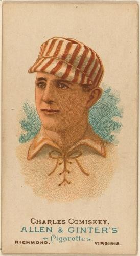 Charlie Comiskey - Vintage Baseball card