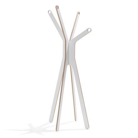 emform - Gardist-Garderobe, weiß Weiß T:70 H:169 B:66 Jetzt bestellen unter: http://www.woonio.de/produkt/emform-gardist-garderobe-weiss-weiss-t70-h169-b66/