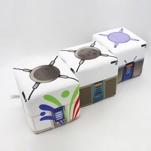 Overwatch Loot Box Plush - AFK eSport Store